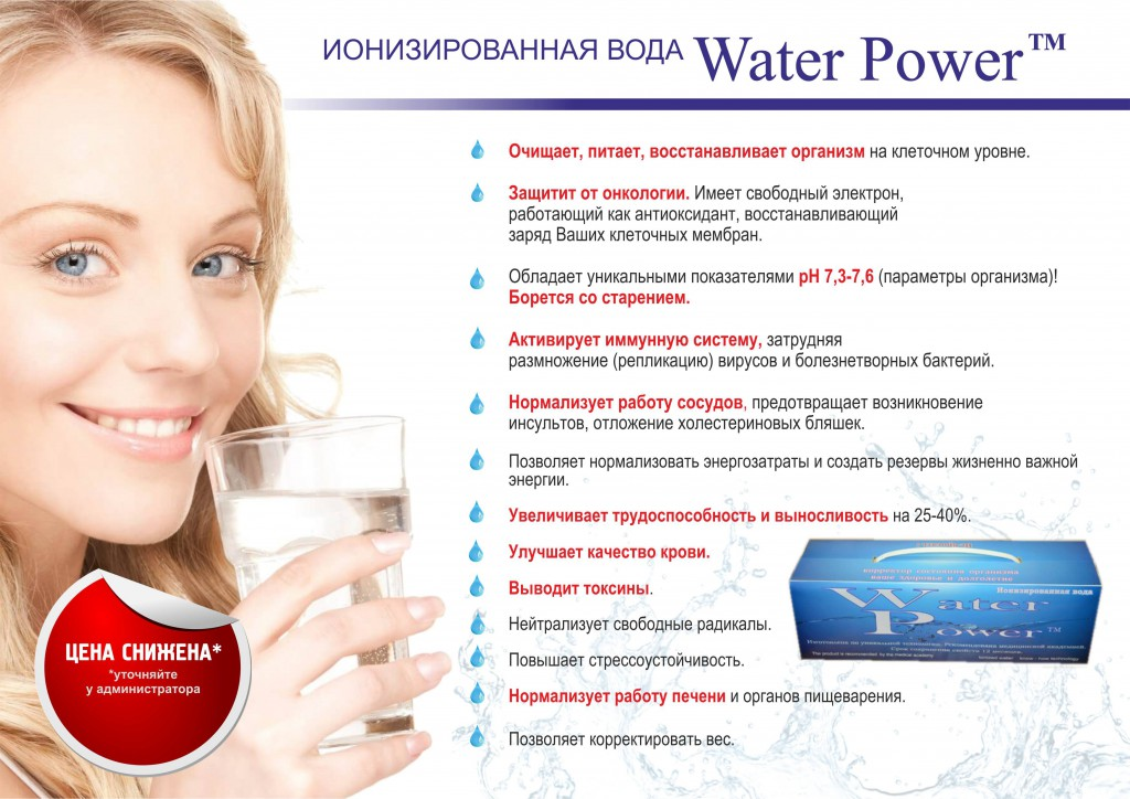 вода баннер